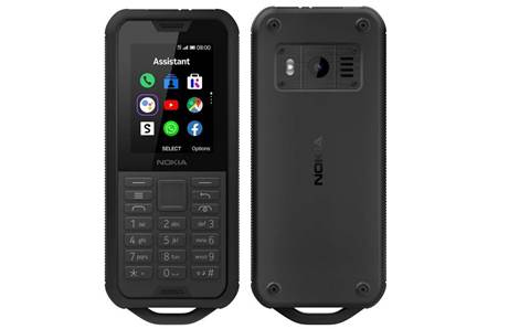 The Nokia 800 Tough costs $199 and is made for dirty work sites