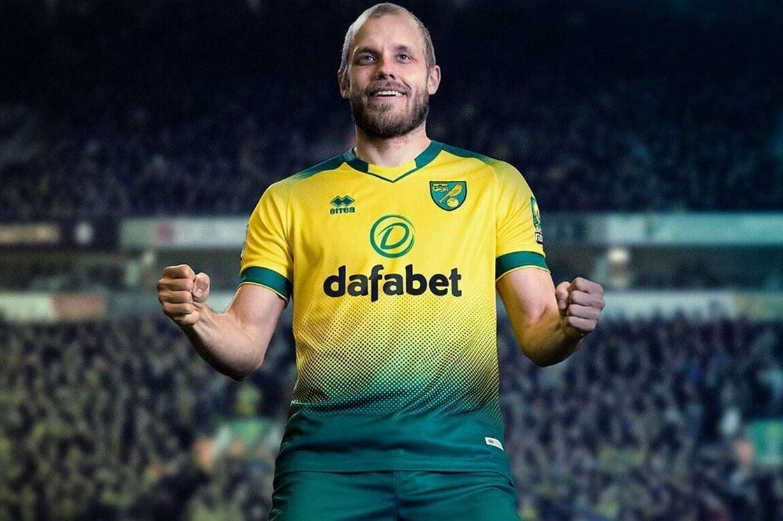 Back in the Prem: Norwich's home strip for the 2019/20 season