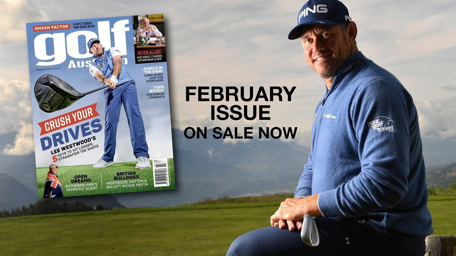 Golf Australia February 2018