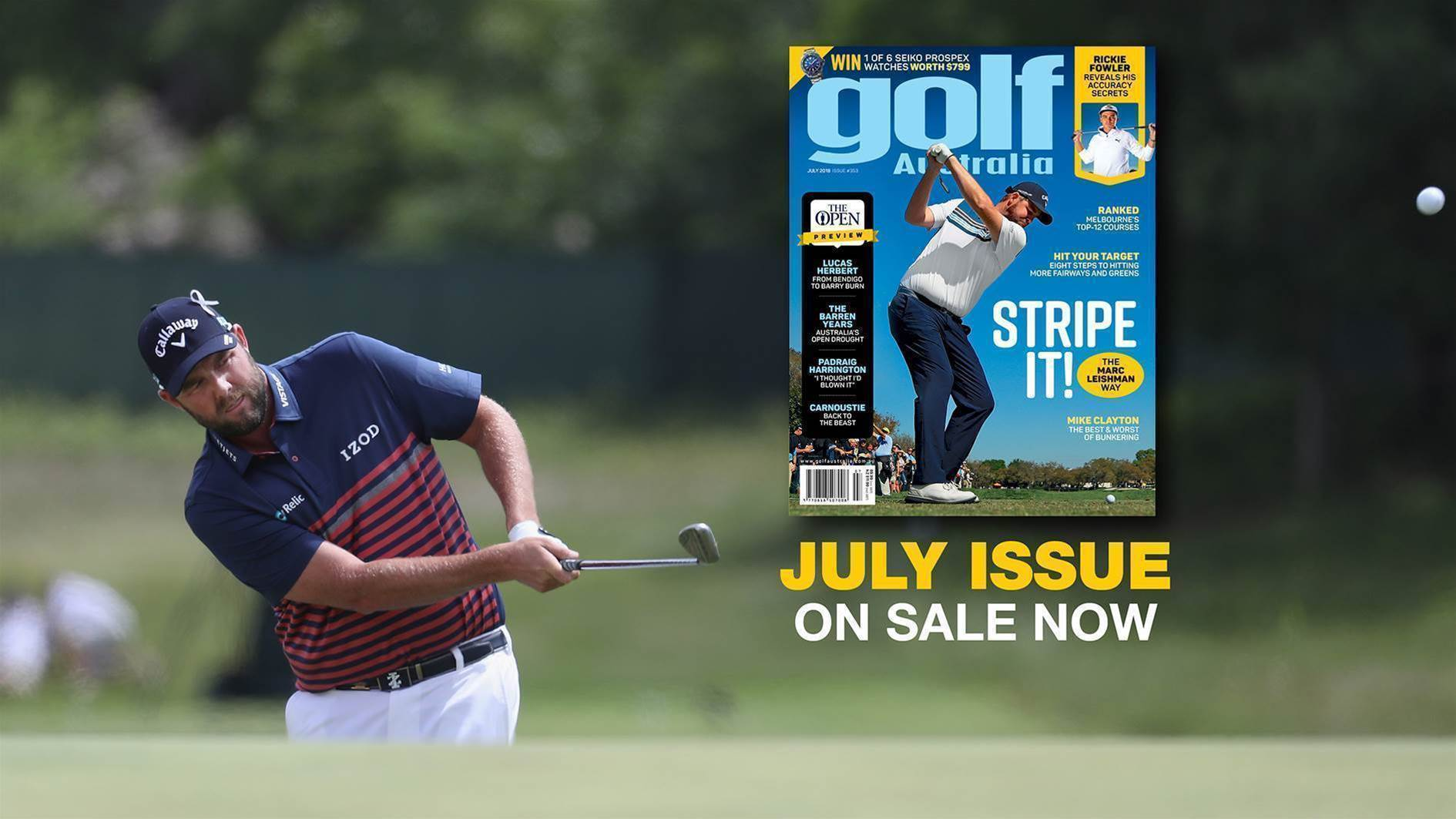 Inside Golf Australia July 2018