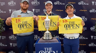 Top Aussie Open trio earn place into The 149th Open Championship