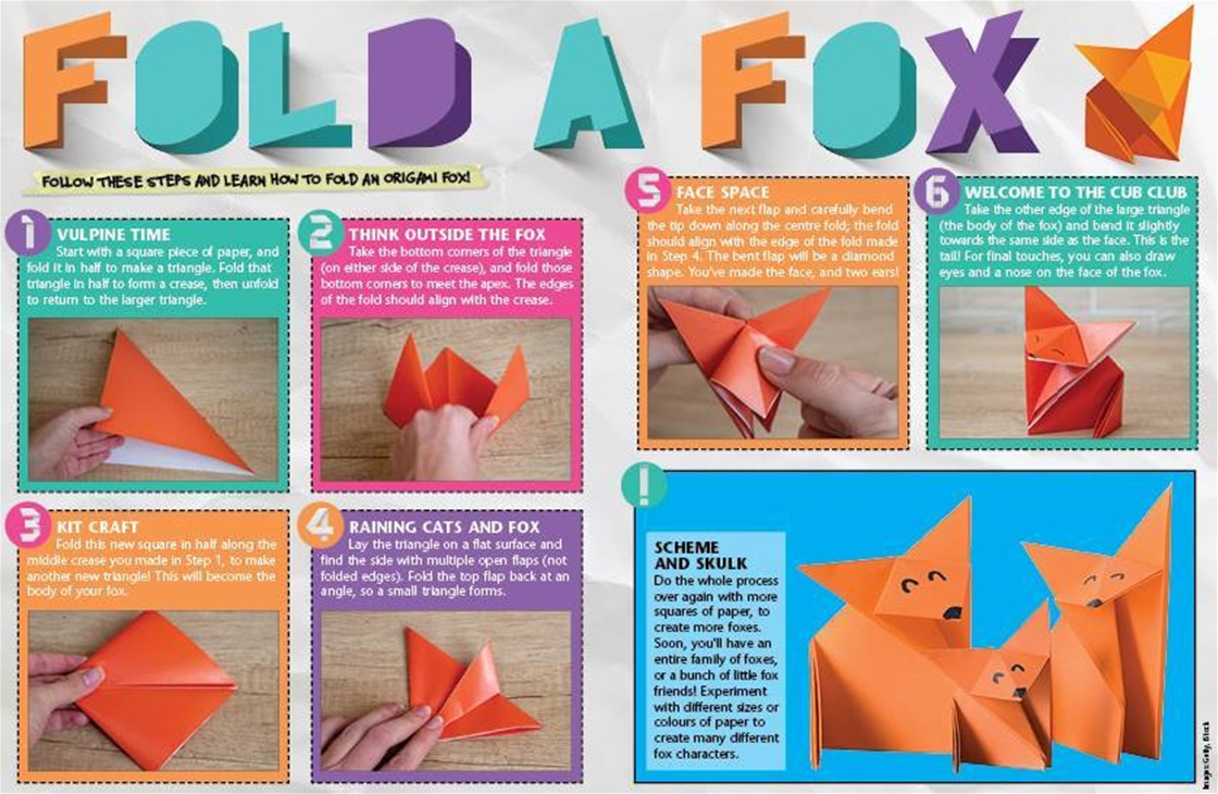 How To: Make An Origami Fox