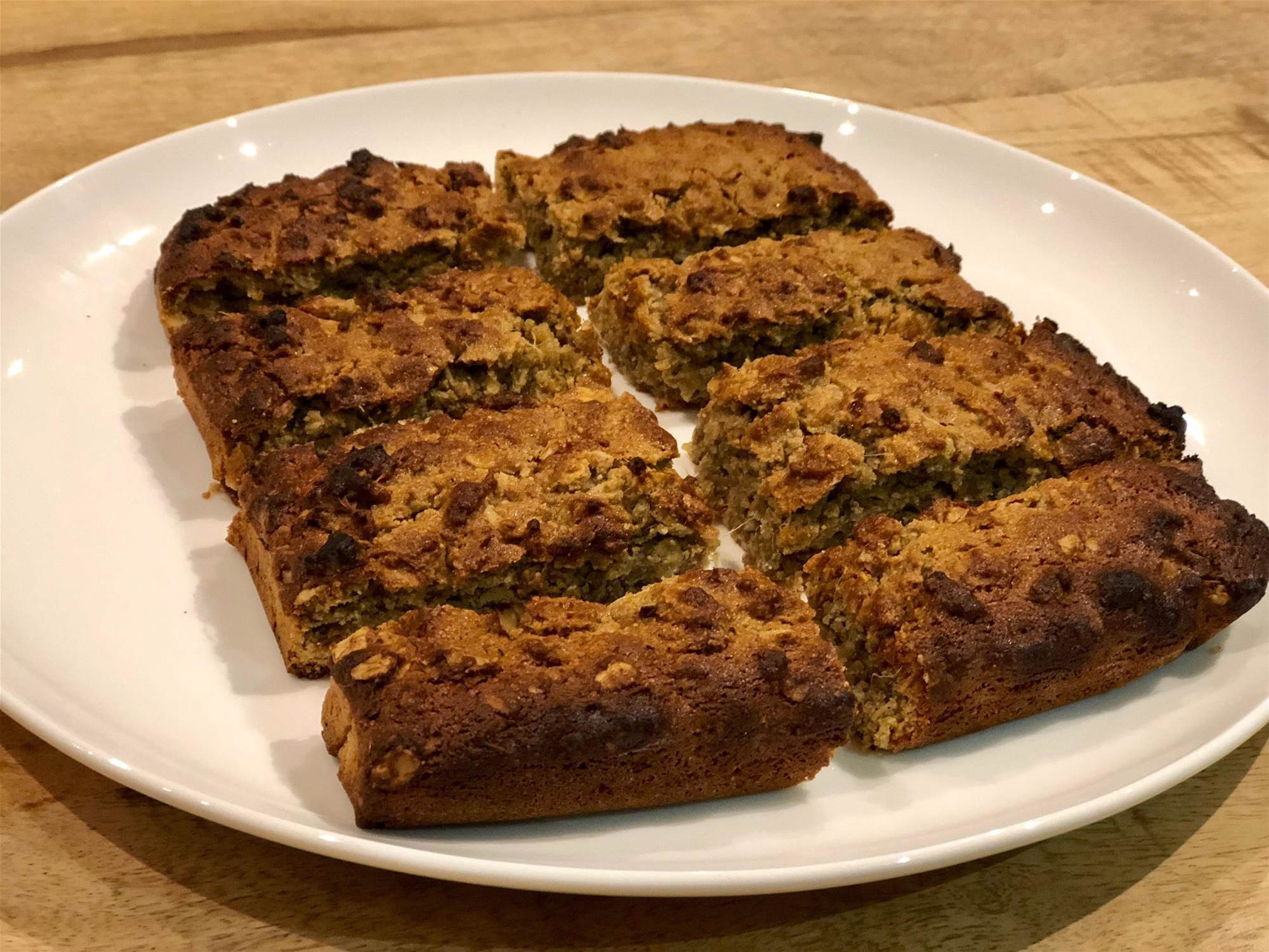 RECIPE: Oaty Ginger Bars