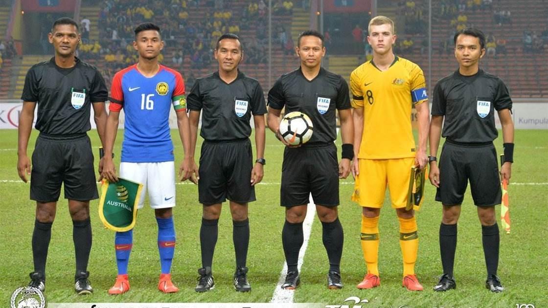 Rising star Piscopo shines as Olyroos draw in Kuala Lumpur