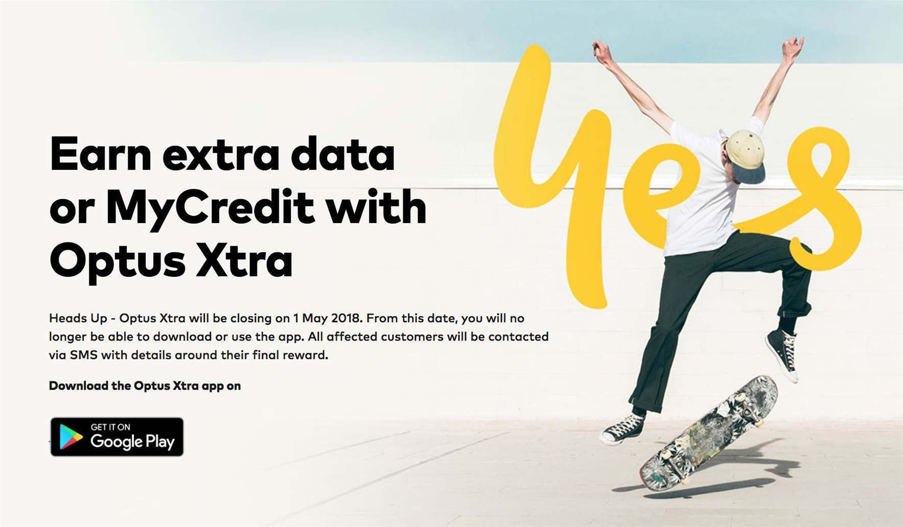 Optus to close its ad-supported mobile service
