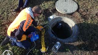 Under the pump over sewage leaks, TasWater turns to IoT