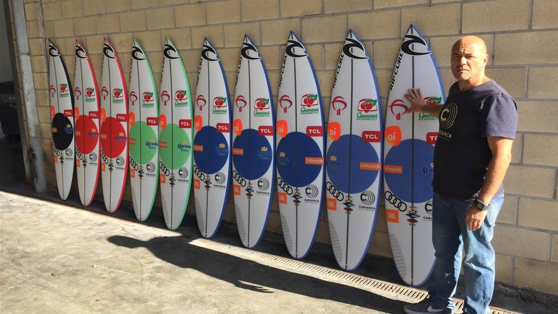Breaking Down Medina's Quiver For D-Day At Pipe