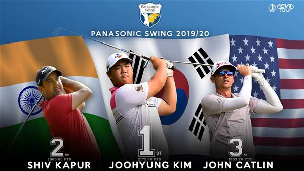 Asian Tour: Kim claims 2019/20 Panasonic Swing