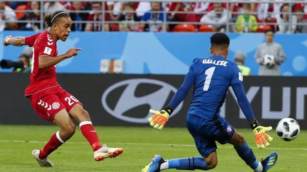 Denmark beat Peru 1-0 in Saransk