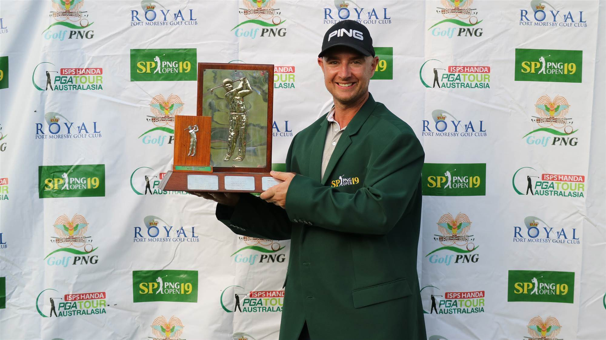 Cooke claims SP PNG Open title