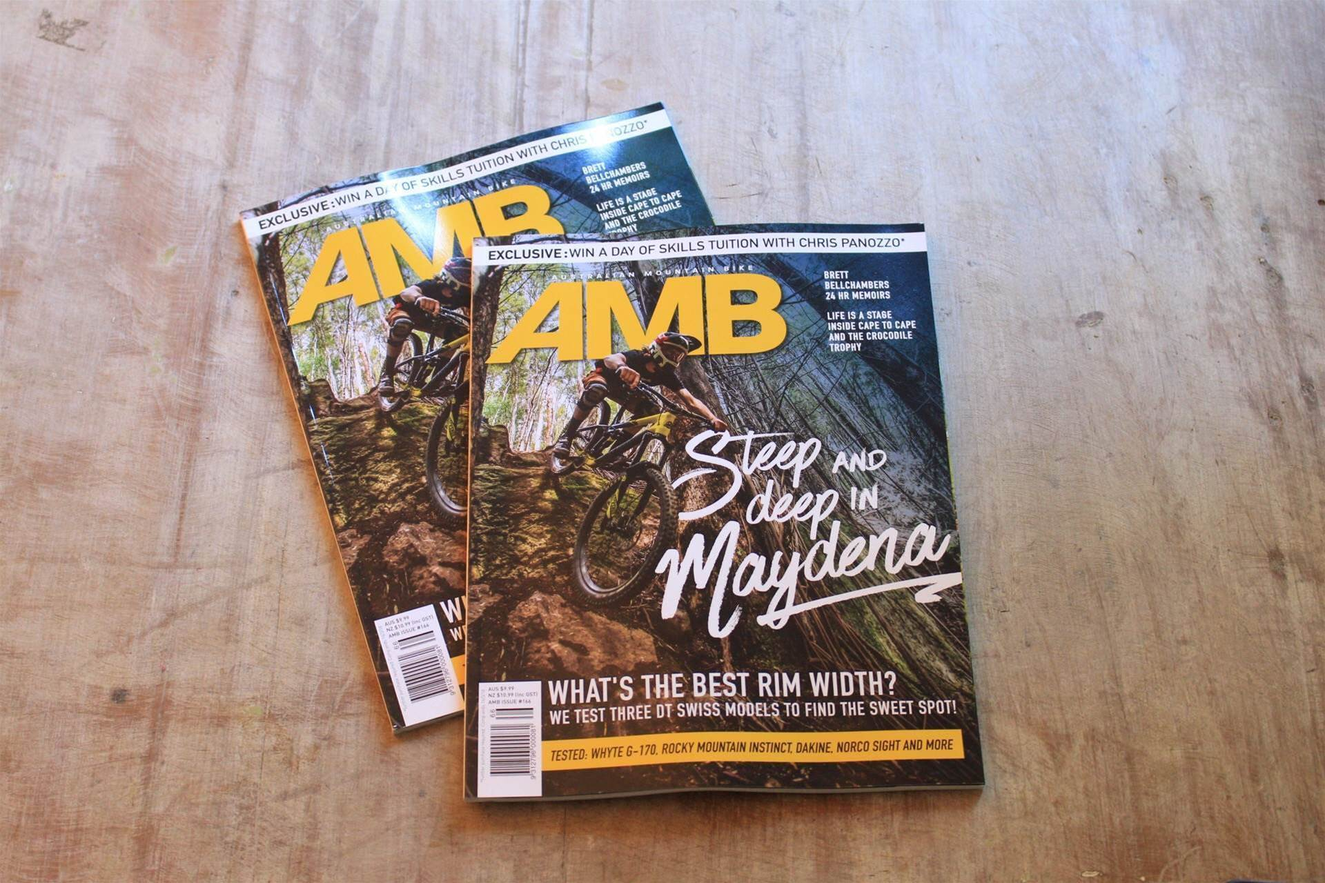 What's inside Issue #166 of AMB?
