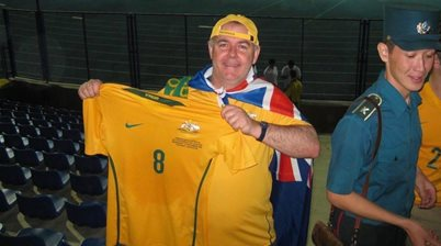 Is this the best collection of Socceroos fan memorabilia?