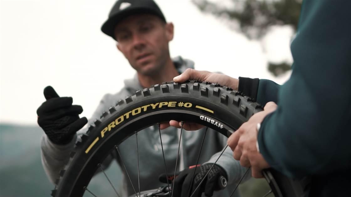Pirelli and Fabian Barel develop Scorpion gravity tyres