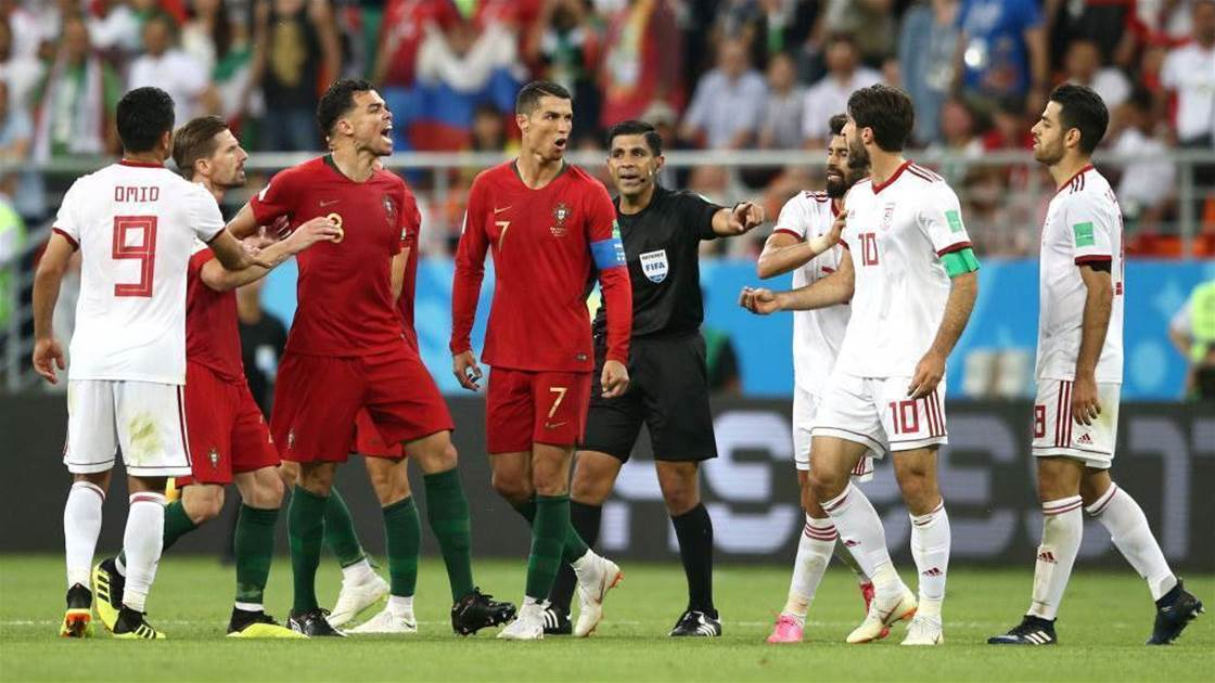 Portugal finish as Group B runners-up after 1-1 draw with Iran