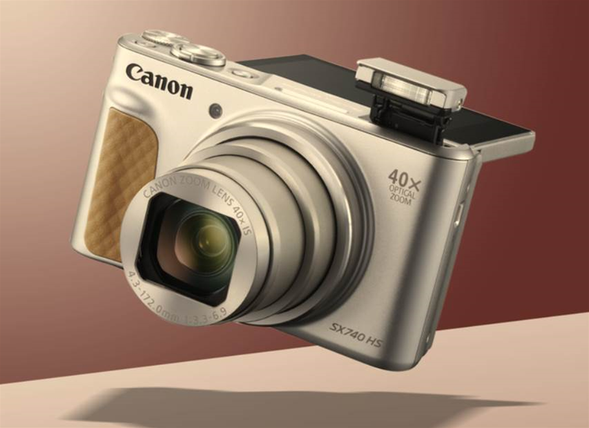 Canon's 4K-capable PowerShot SX740 HS could be the perfect last-minute travel companion