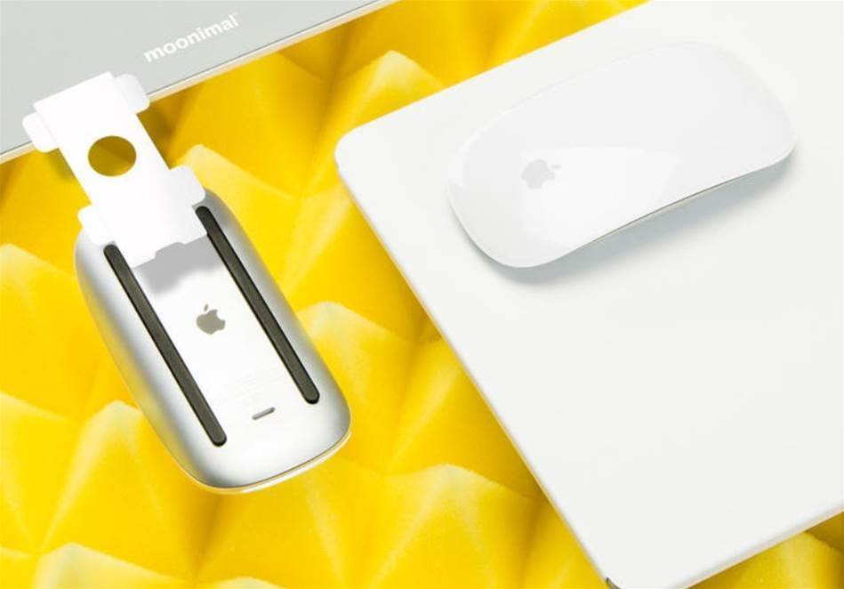 PureShape is a minimalist mousepad for Apple's Magic Mouse, inspired by Dieter Rams