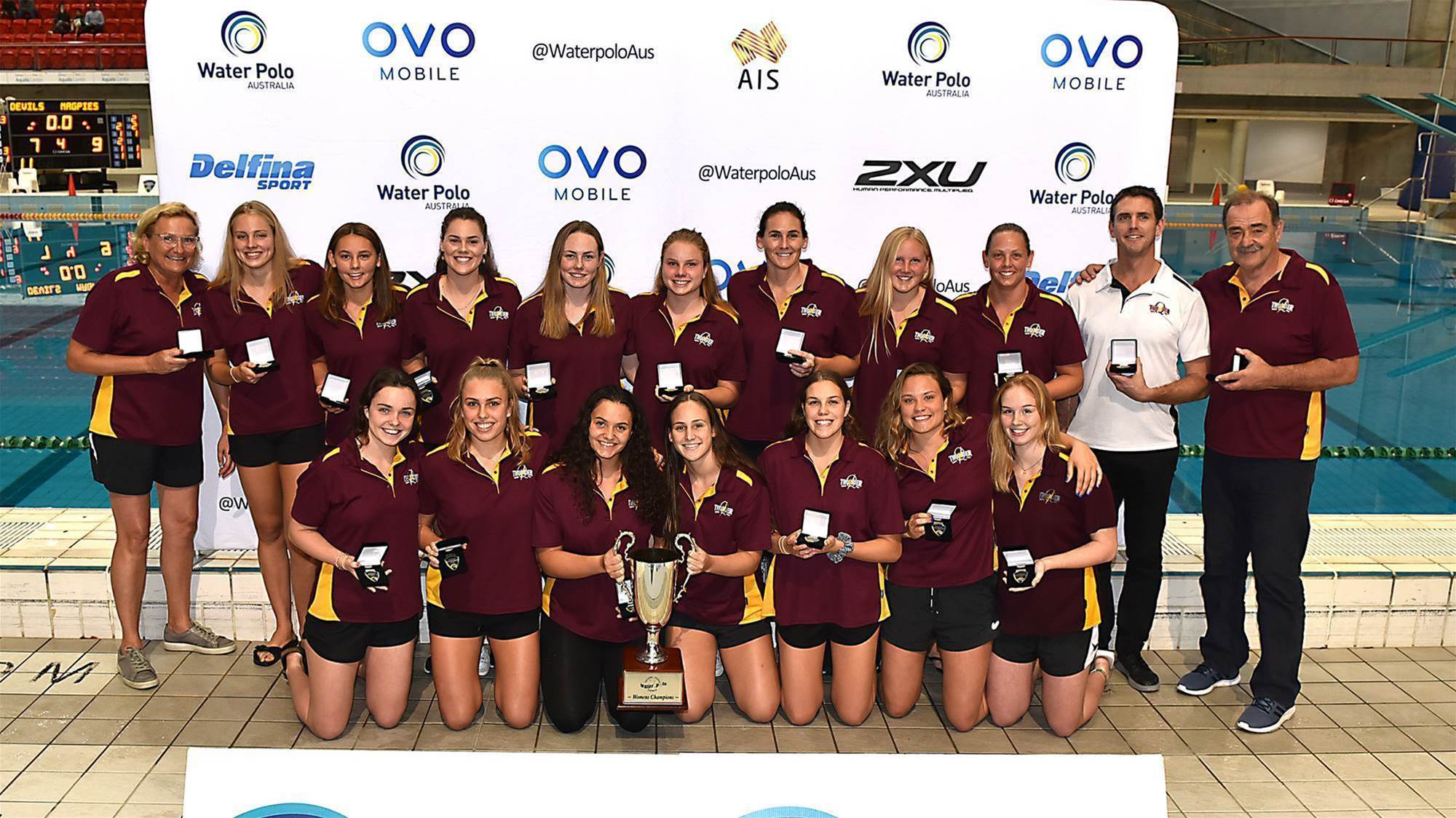 Olympian leads youthful Queensland to gold