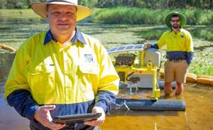 Autonomous bot to safeguard Queensland's water