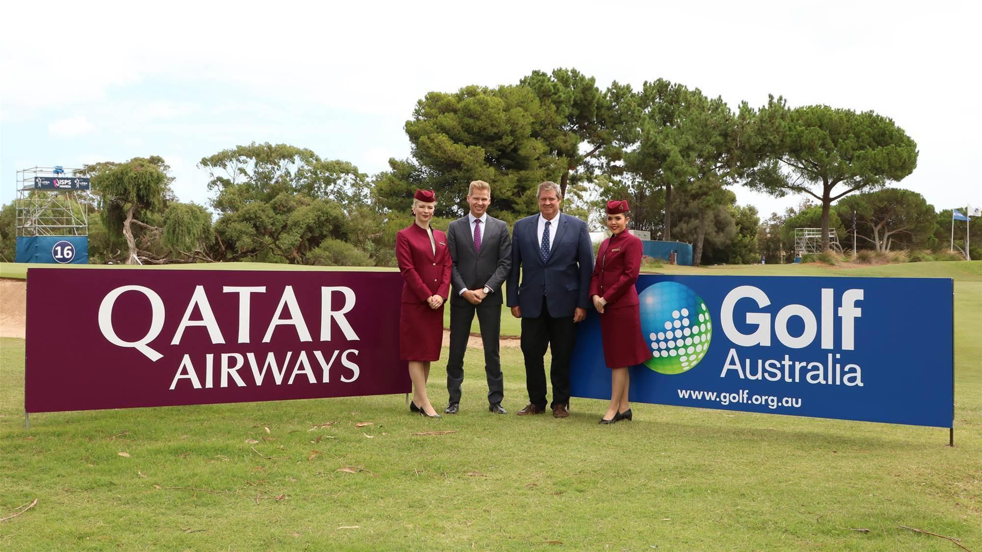 Qatar Airways becomes official partner of Golf Australia