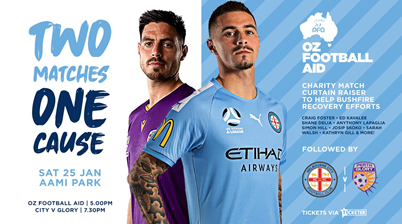 Simon Hill and Craig Foster set to face off for bushfire fundraiser
