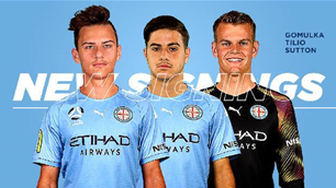 Official: City sign talented A-League trio