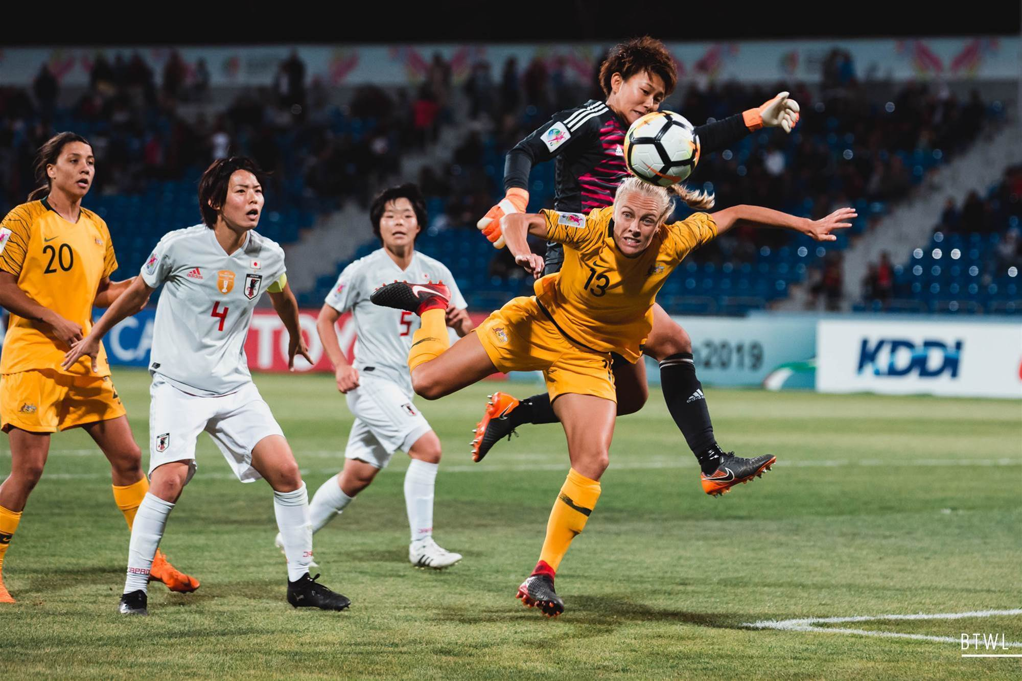 Japan haunts the Matildas once again