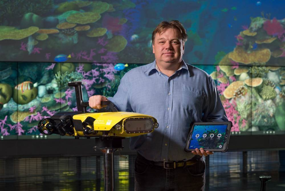QUT unleashes autonomous killer robot on Great Barrier Reef