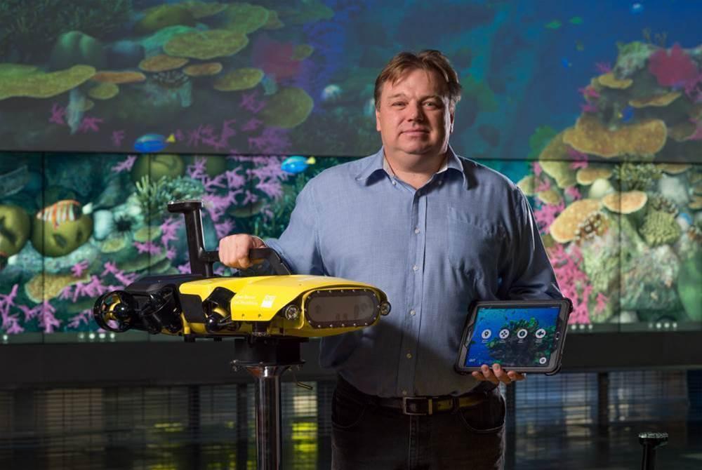 QUT unleashes autonomous killer robot on Great Barrier Reef