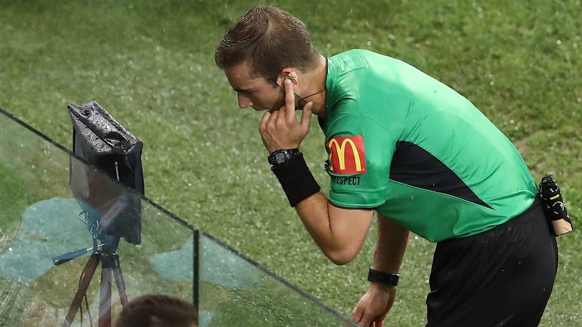 Referees boss responds to 'unjustified' criticism