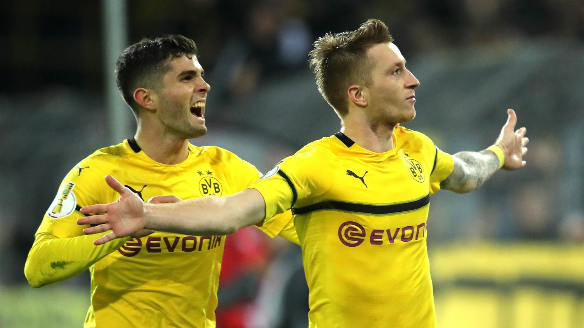 Watch! FIFA World Tour: Dortmund, Reus & MoTrip vs Pulisic & Payne