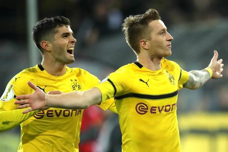 Watch! FIFA World Tour: Dortmund, Reus & MoTrip vs Pulisic & Payne