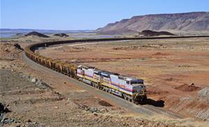 Rio Tinto's autonomous train makes first solo pit-to-port delivery