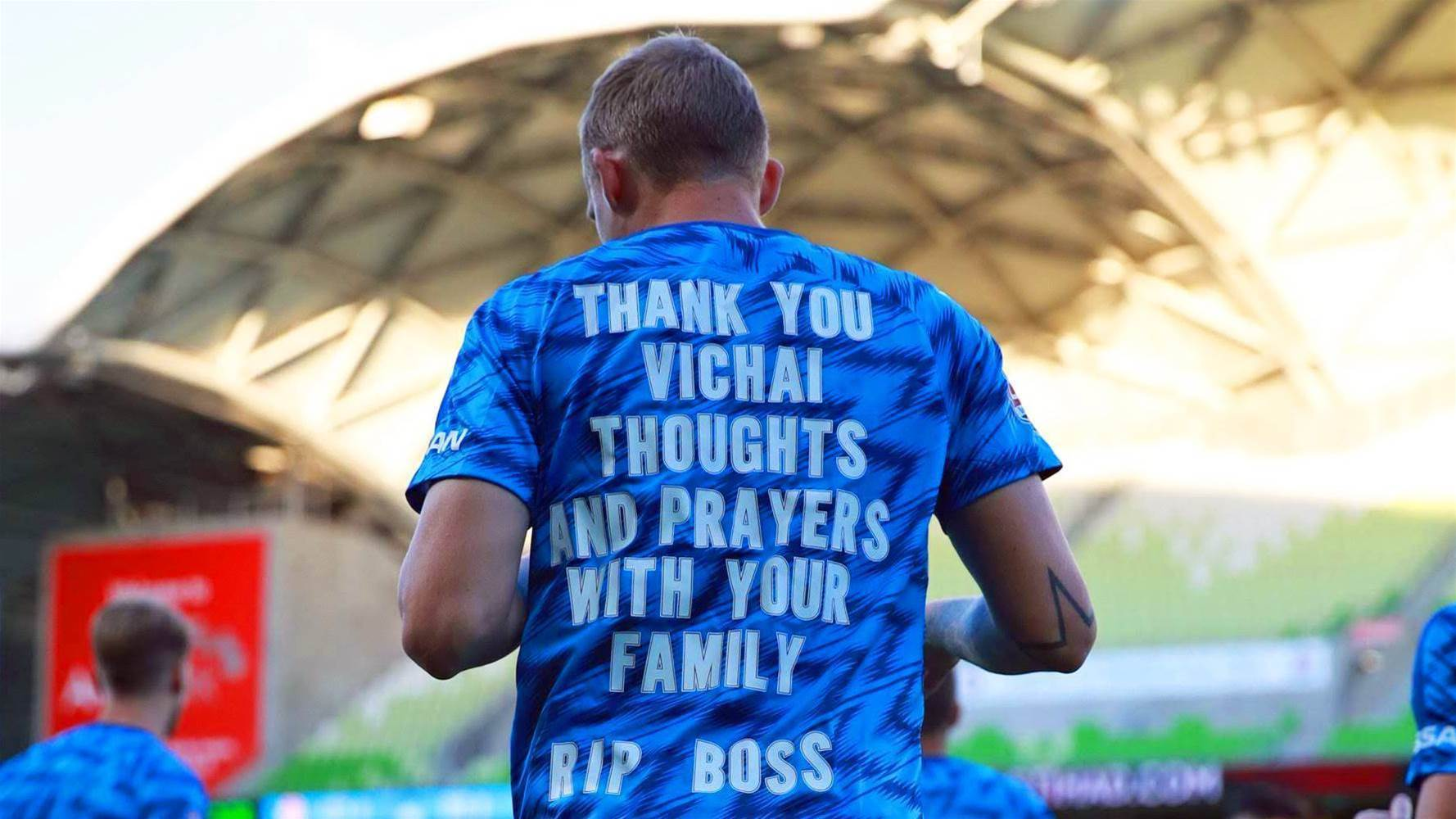 De Laet's touching tribute to late Leicester City owner: 'It's because of him'
