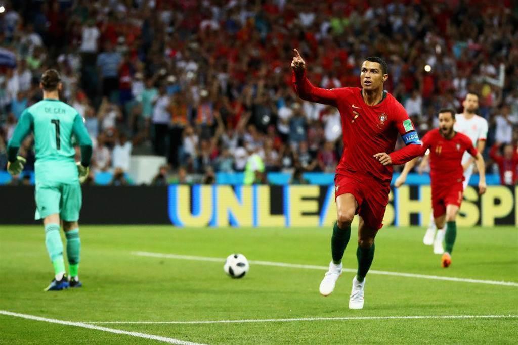 Ronaldo's Helping Hand