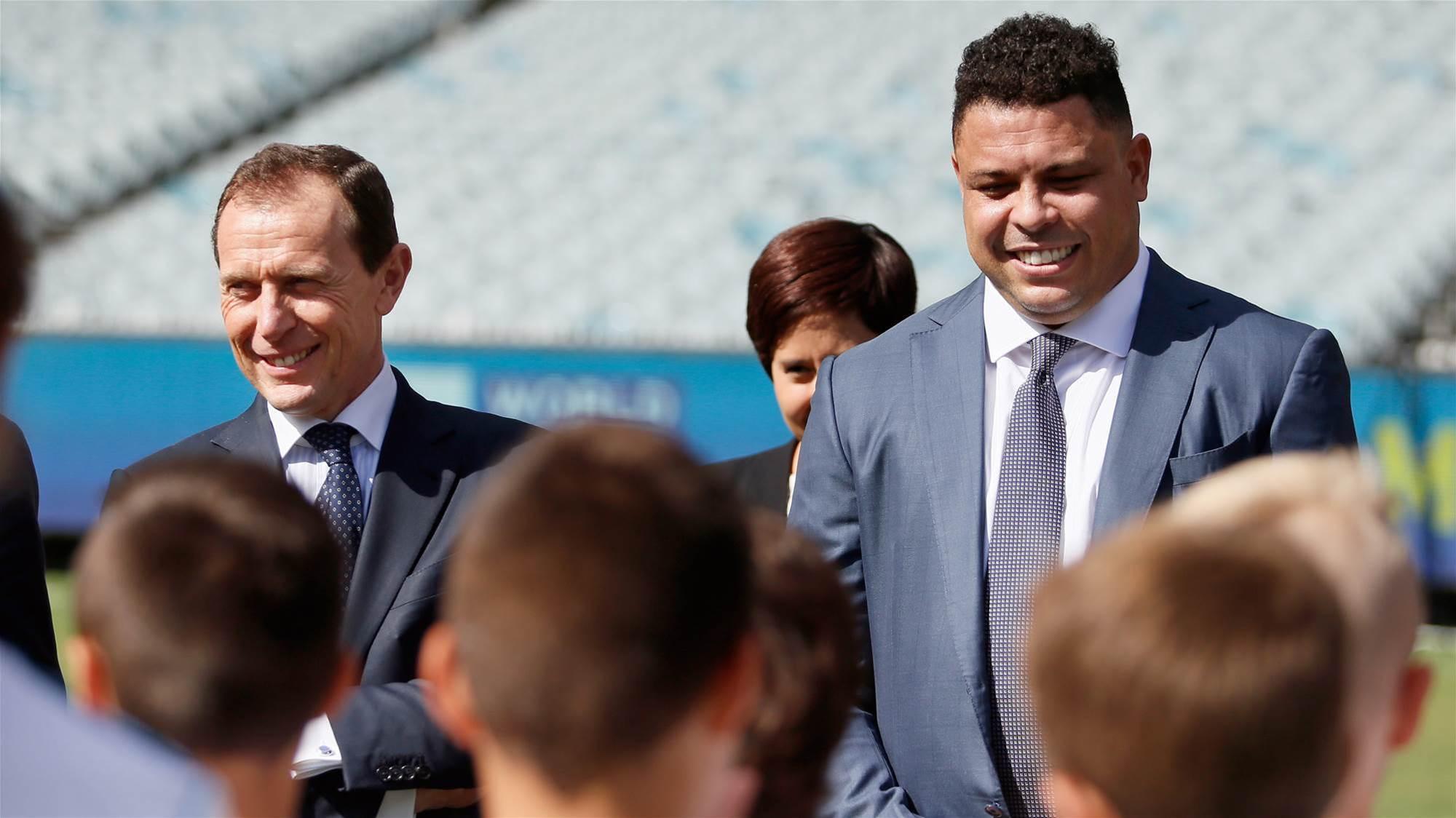 Ronaldo: We'll bring the Bernabeu to Melbourne!