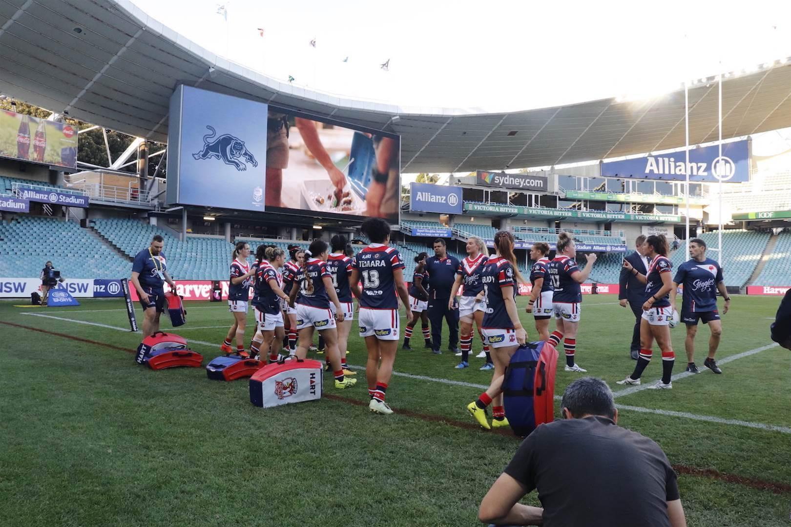 The Sydney Football Stadium's last hurrah