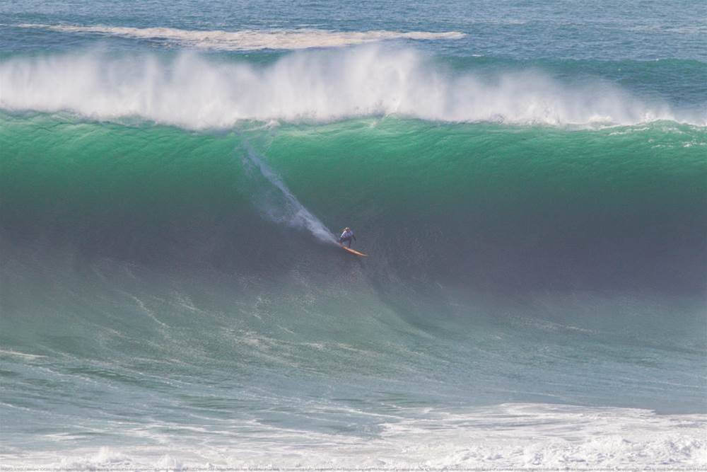 Bierke Makes His Mark in First BWT Event in Epic Nazare