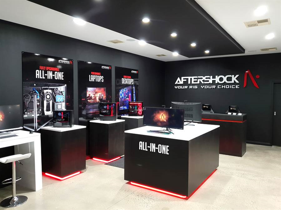 Singapore PC builder Aftershock launches in Australia
