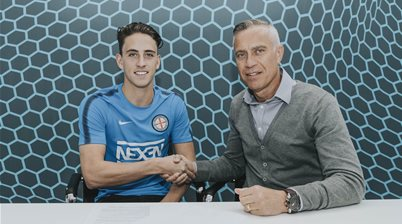 Melbourne City sign Wales, Caceres returns