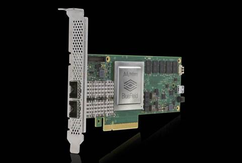 VMware demos hypervisor running on a network card
