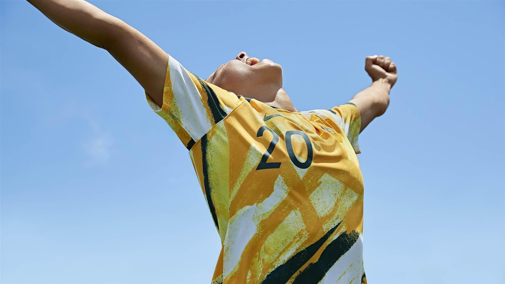 Fans snap up new Matildas jersey