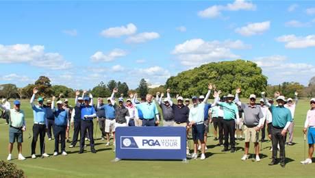 Aussie sun safe clothing brand SParms sponsors PGA Legends Tour