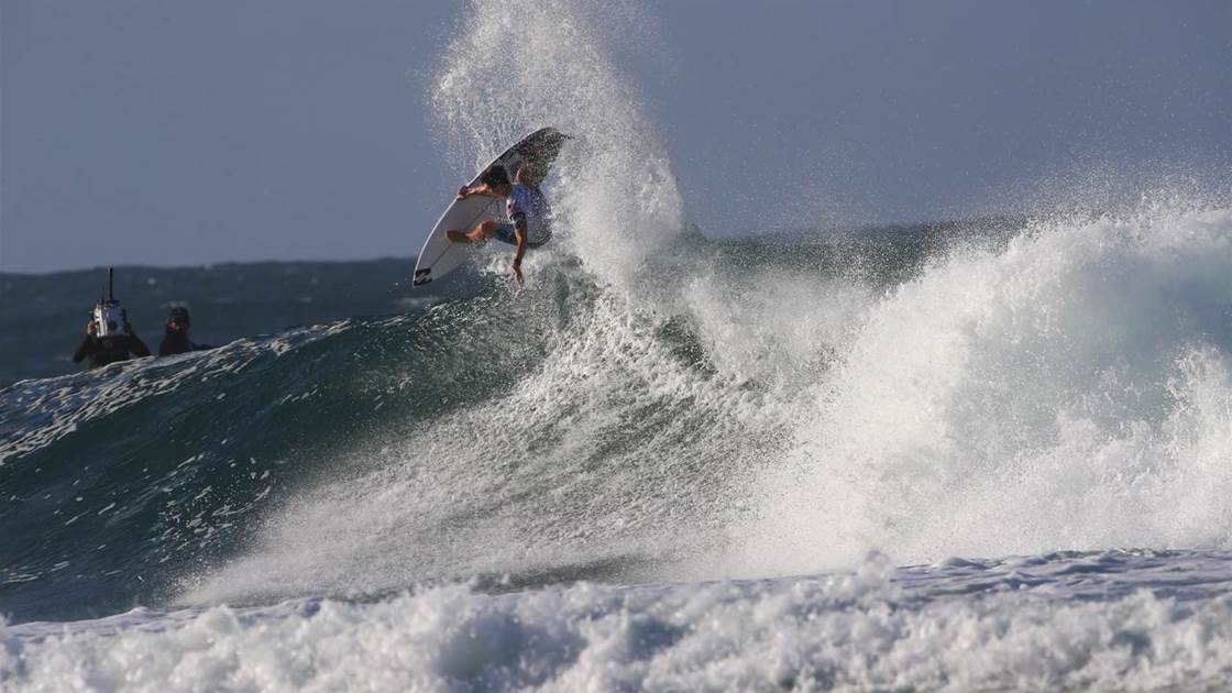 Where did all the world champs go at the Quik Pro?