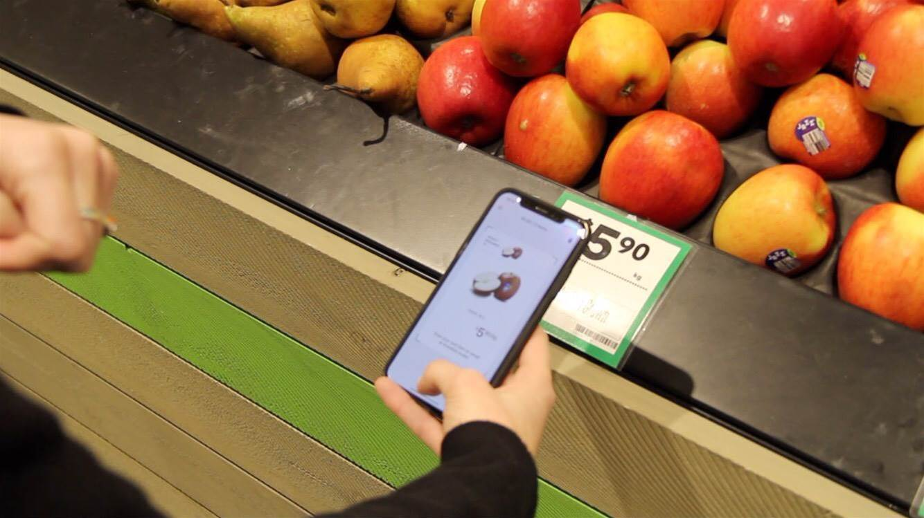Woolworths trials 'scan and go' smartphone shopping