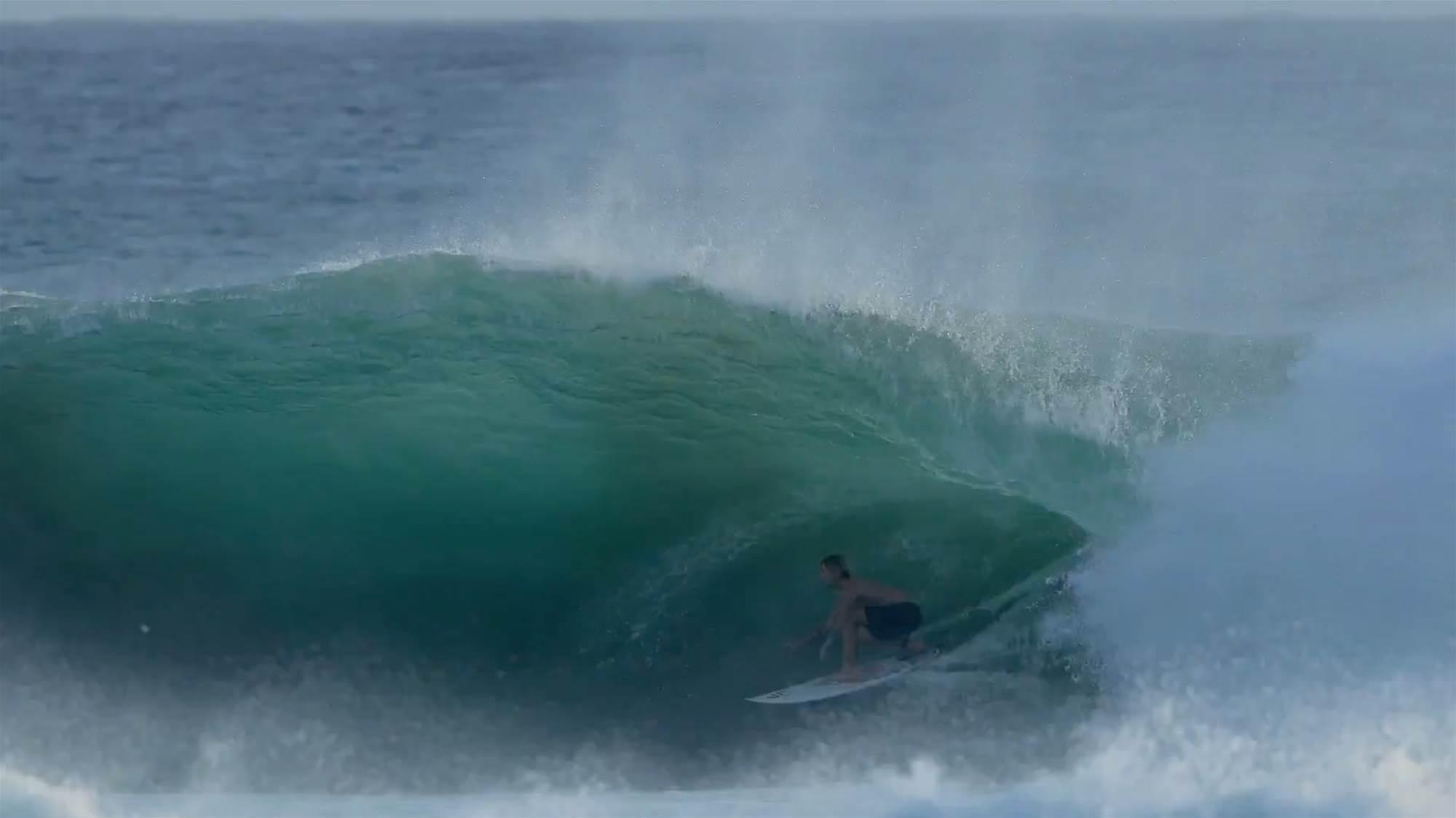 McKenzie Bowden Describes His Wave at Kirra That Went Viral