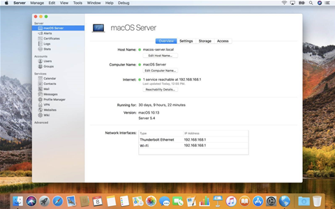 Apple culls most functionality from macOS Server