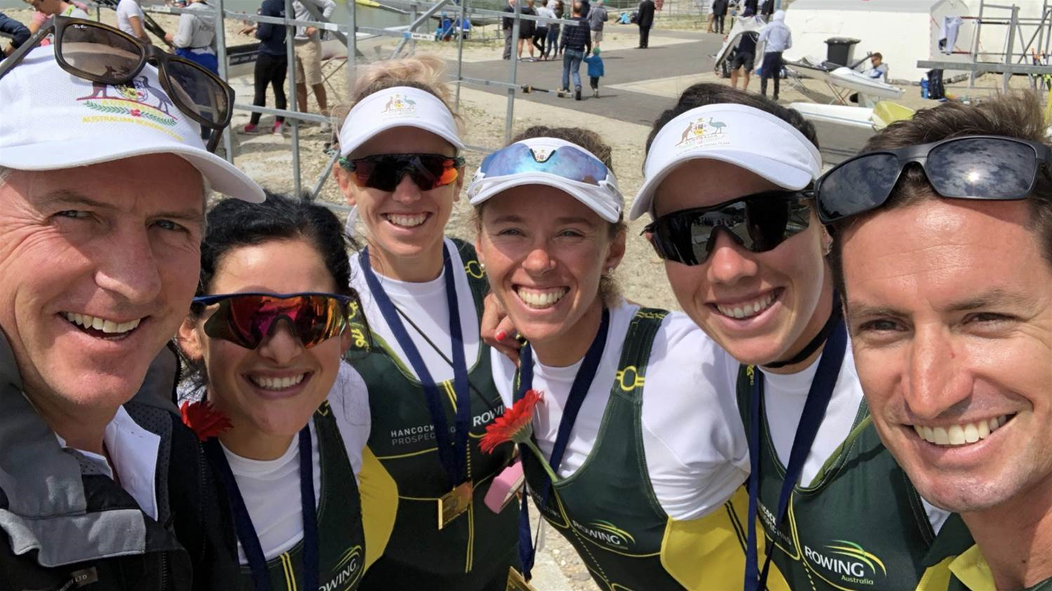 Success at World Rowing Cup II for Aussies