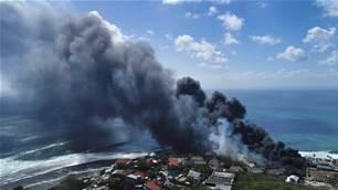 Uluwatu Is On Fire