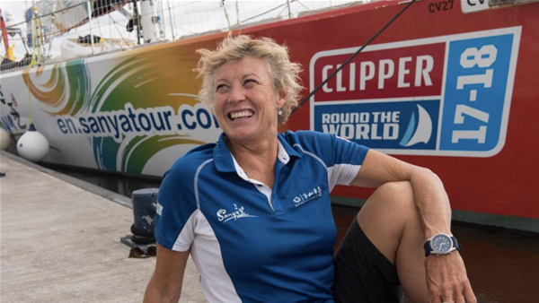 Wendy Tuck - First women to win round-the-world yacht race