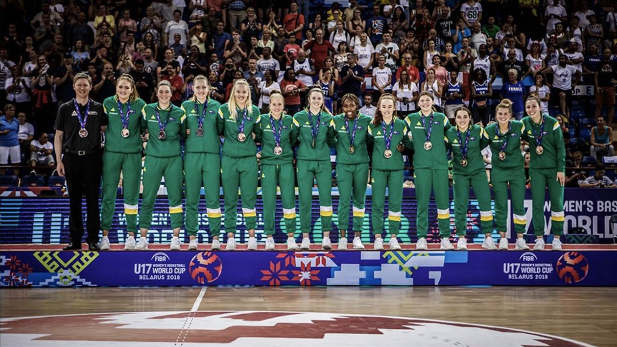 Sapphires secure bronze at World Cup